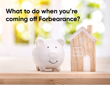 What to do when you're coming off forbearance?