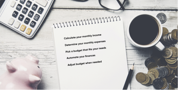 How to set up a budget in 5 simple steps